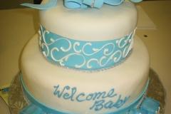 Baby Shower Cake #4