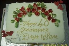 Engagement & Anniversary Cake #4
