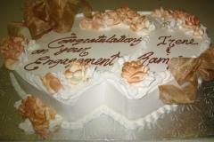 Engagement & Anniversary Cake #14