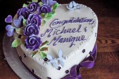 Engagement & Anniversary Cake #19