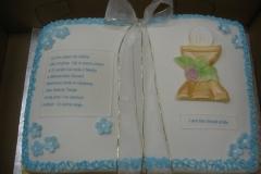 Religious & Graduation Cake #17
