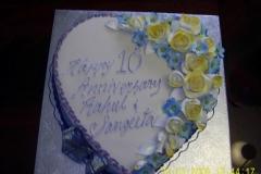 Engagement & Anniversary Cake #6