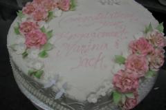 Engagement & Anniversary Cake #7