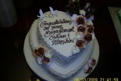 Engagement & Anniversary Cake #13
