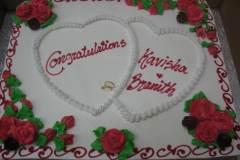 Engagement & Anniversary Cake #28