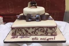 Engagement & Anniversary Cake #34