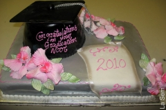 Religious & Graduation Cake #42