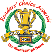 Readers' Choice Awards - Gold WInner 2014